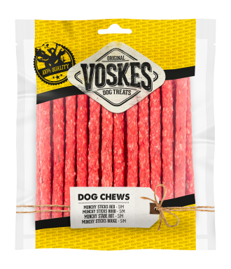 Voskes - Munchy Stick Rood 100stk Image